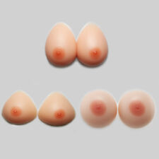 3 Shape Silicone Breast Forms Crossdresser Transgender Mastectomy Bra Inserts