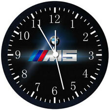 BMW M5 Black Frame Wall Clock Nice For Decor or Gifts W380
