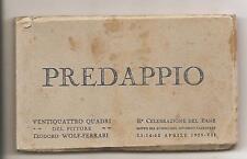 PREDAPPIO_MUSSOLINI_Libretto completo di 24 cartoline_Pittore T. WOLF-FERRARI