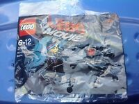 LEGO The Movie Micro Manager Battle Polybag Set 30281 Bagged Mint New POST FREE