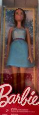 Barbie Glitz Doll - Dark Hair: Blue Dress : New