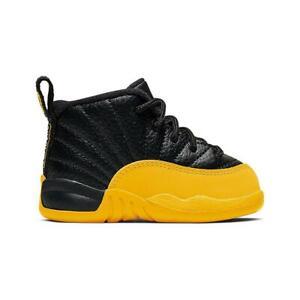 "Toddler's Nike Air Jordan Retro 12 ""University Gold"" Athletic Fashion 850000 070"