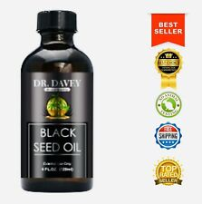 Organic Black Seed Oil Cold Pressed 4oz:🥇Pure & Natural Cumin Nigella Sativa 🥇