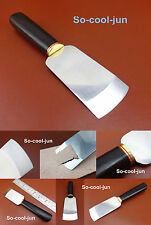 Leather Craft Swiss High Speed Steel Cocobolo Handle All Purpose Knife Cutter