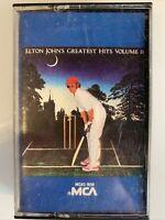 Elton John Greatest Hits Volume II (Cassette)