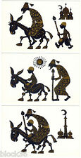 1971 Set of 5 cards MILLER, A BOY AND A DONKEY by V.Ginukov with S.Marshak verse