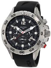 Nautica Men's Black Resin Chronograph Watch N14536