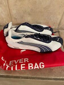 PUMA H-Street Running Shoes Blue & White Men's Size 8.5