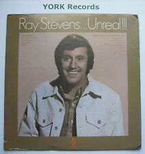RAY STEVENS - Unreal!!! - Excellent Condition LP Record Barnaby Z 30092