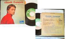 45T.Poch.glacée+LANGUETTE:CLAUDE FRANCOIS Belles! belles! belles! +3t./ n°460841