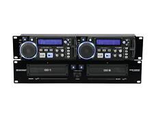 OMNITRONIC  XCP-2800  Dual-CD-Player  Doppel CD Player 19 Zoll