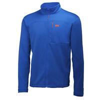 HELLY HANSEN Men's VERTEX Stretch Midlayer Fleece Jacket, Classic Blue, XL