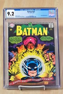 Batman #192 CGC  9.2 High Grade Silver Age