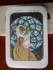 Ancienne Boite Vide dragées /chocolat MASSON PARIS - Henri 3 novembre 1925