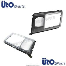 For Mercedes W124 260E 300E 400E Set of 2 Left+Right Headlight Door Lamp URO