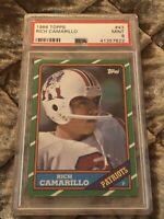 1986 Topps Football #43 Rich Camarillo PSA 9 Mint