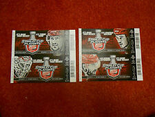 2014 DETROIT RED WINGS PLAYOFF TICKET LOT (4)  ROUND 2 - ZETTERBERG TATAR + EXC