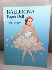 Paper Dolls - 1994 Ballerina, Full Color, Tom Tierney