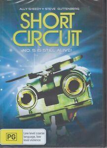 SHORT CIRCUIT DVD - No. 5 Is Alive! - Ally Sheedy, Steve Guttenberg NEW & SEALED