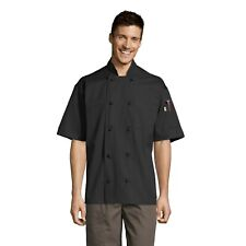 Antigua Chef Coat, 10 Knot Buttons, Short Sleeve, Xs-3Xl 0430 Free Shipping
