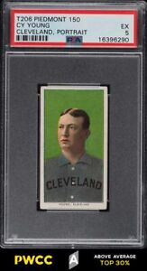 1909-11 T206 Cy Young CLEVELAND PORTRAIT PSA 5 EX (PWCC-A)