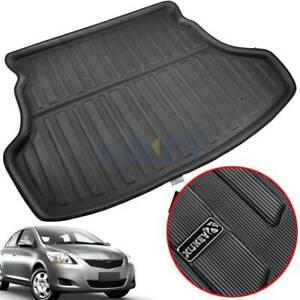 For Toyota Yaris Vios 2007-2013 Rear Trunk Liner Boot Mat Cargo Floor Carpet