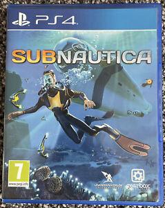 Playstation 4 PS4 - Subnautica - PAL - VGC - Free UK PP