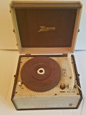 Vintage record player phonograph Zenith BP-6 portable turntable portable