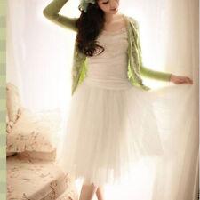 Women Multi-Layers Tulle Skirt Long Dress Princess Ballet Tutu Dance Prom Party
