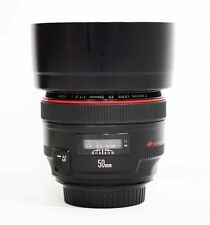Used Canon EF 50mm f/1.2 USM L Lens
