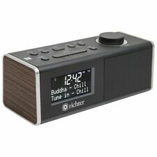 Richter Wake DAB+ FM Alarm Clock with Bluetooth RR40WAL