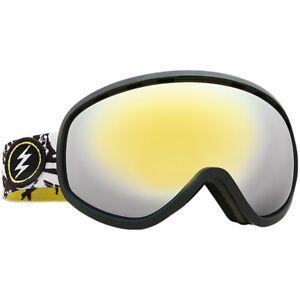 Electric Visual Mesher Bones Snowboarding Goggles (Brose / Gold Chrome)