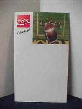 1970's Coca Cola Fall Football Promo Sign material