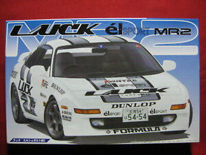 Toyota MR2 Luck El Sport Fortec 1/24 Fujimi Japan Plastic Model Kit MR-2
