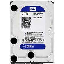 "Western Digital WD Blue 2 TB Internal  3.5"" Hard Drive HDD Desktop 2TB WD20EZRZ"