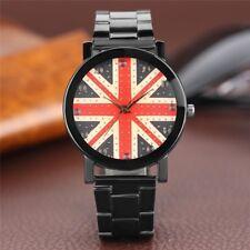 Kevin Brand Men's British Flag Union Jack Watch Free Ship New Britain UK