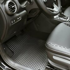 Coverking Front and Rear Floor Mats for Select Mercury Grand Marquis Models CFMB5FMR9401 Nibbed Vinyl Clear
