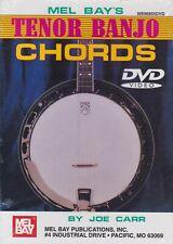 Mel Bay'S Tenor Banjo Chords by Joe Carr- Method Dvd/ New!