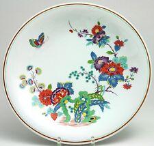 Meissen Wandschale Indische BlumenMalerei mit Schmetterling Schlossvase 35cm