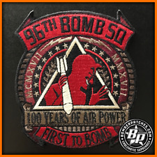 96TH BOMB SQUADRON 100TH ANNIVERSARY PATCH, B-52 STRATOFORTRESS, BARKSDALE AFB