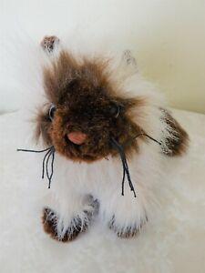 Ganz Himalayan Cream & Brown Cat Kitten Plush Soft Toy Stuffed Animal 34 cm BNNT