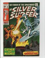 Silver Surfer #12 marvel 💥 1969  silver  age comic + Abomination