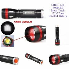 Sky Wolf Eye 3000LM CREE XML T6 LED zoomable Flashlight Torch 18650 not included
