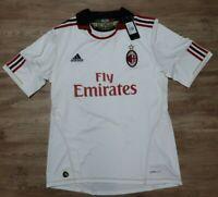 AC Milan Jersey Shirt adidas 100% Original Men's L 2010/2011 Away NEW Rare