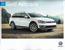 2017 17  VW  Golf Alltrack original Sales brochure MINT