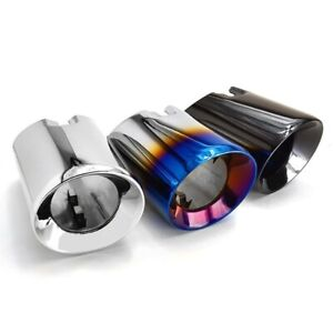 BMW F30 F31 335I 340I Stainless Steel Slash Cut Exhaust Tips