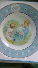 1974 Mother'S Tenderness Collector Plate Ceramic Avon Plates Pre-Owned with box