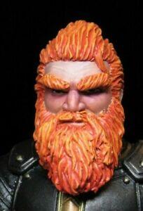 HEAD ONLY Mythic Legion Four Horsemen Custom Painted Dwarf Slayer HEAD ONLY