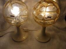 Paar DORIA Nacht Tisch Lampen Bed Side Desk Lamps Leuchten #<