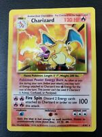 Pokemon 1999 Charizard Base Unlimited Set Rare Holo 4/102